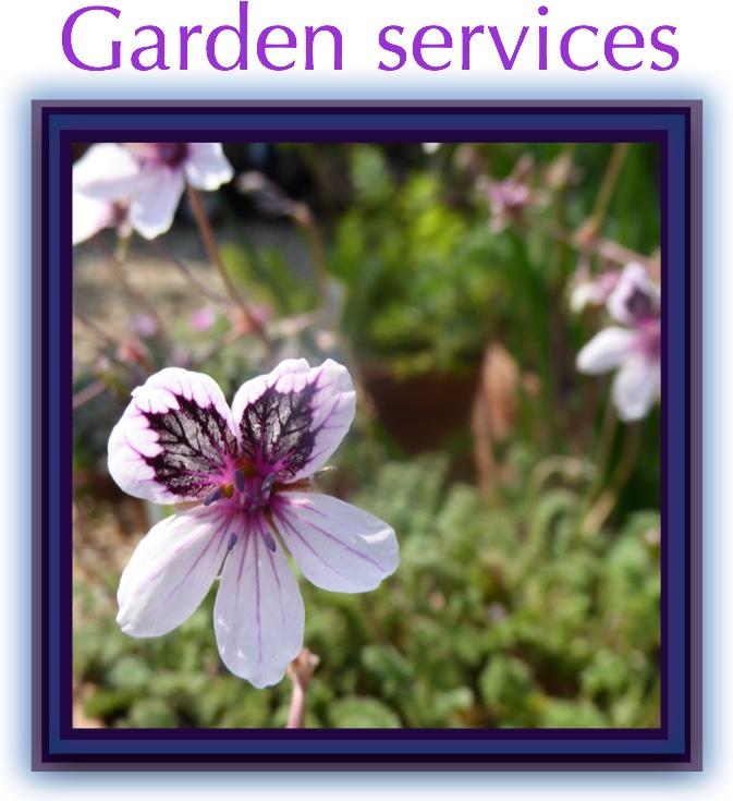garden serv button